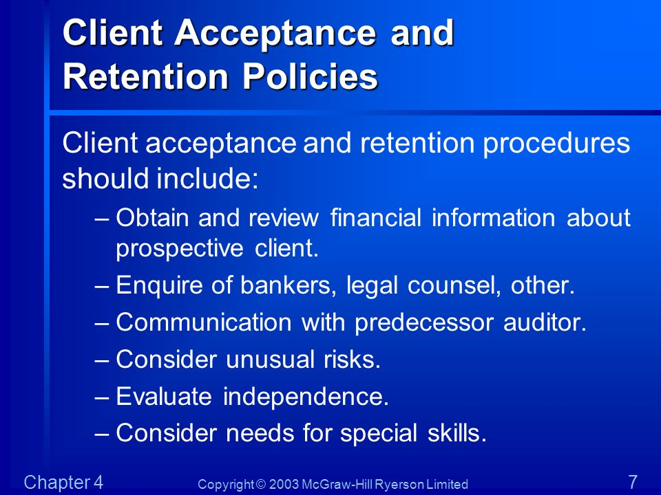 retention policy in accountancy In our quest to be a center of excellence in accountancy education, we will   the following policies for admission and retention shall be effective school year .