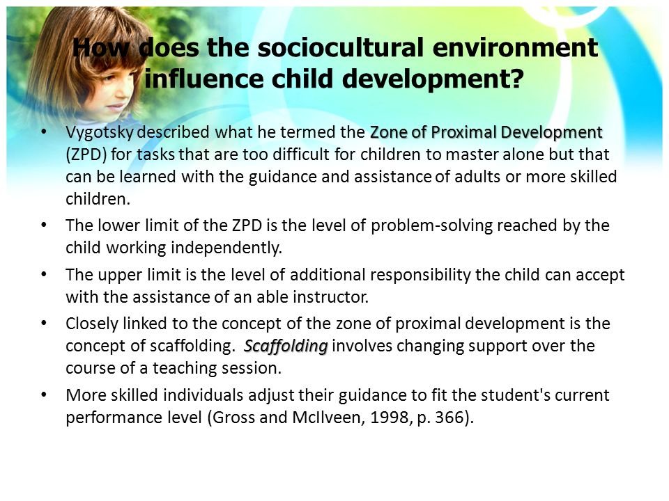 Does the Environment Affect a Child's Behavior?