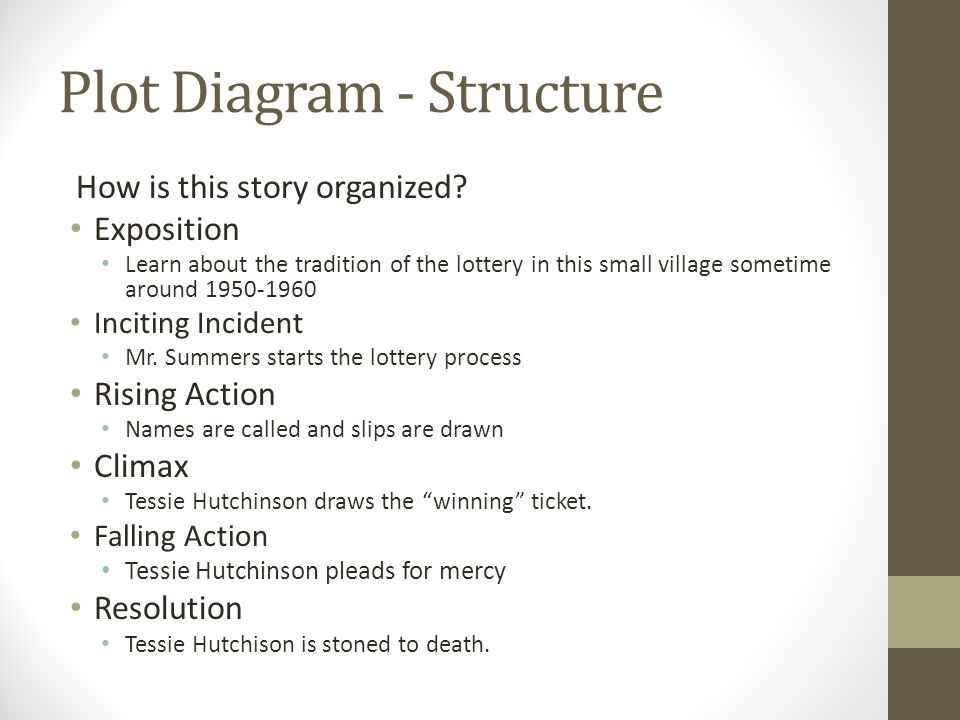 the lottery and the necklace A summary of the short story the necklace in-depth analysis of some of the most popular short stories including summaries, character analysis, narrative technique, symbolism and much more.