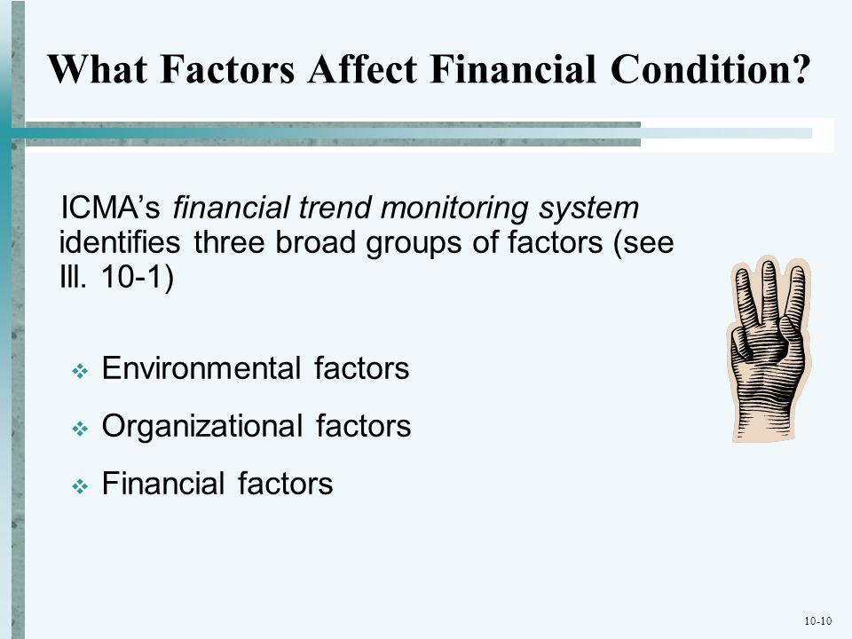 What Factors Affect Financial Condition