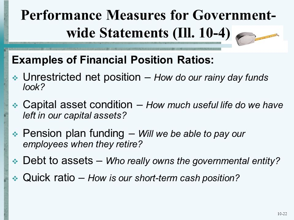Performance Measures for Government-wide Statements (Ill. 10-4)