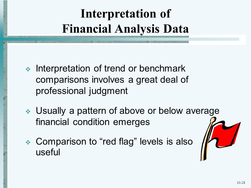 Financial Analysis Data