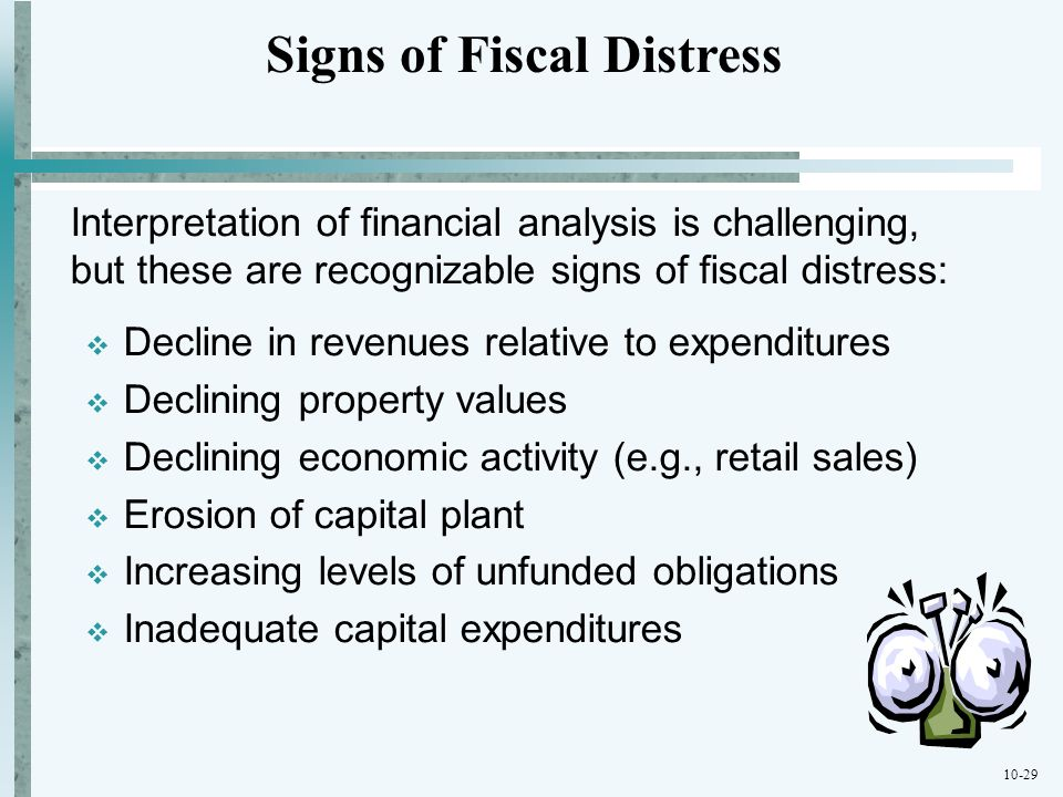 Signs of Fiscal Distress