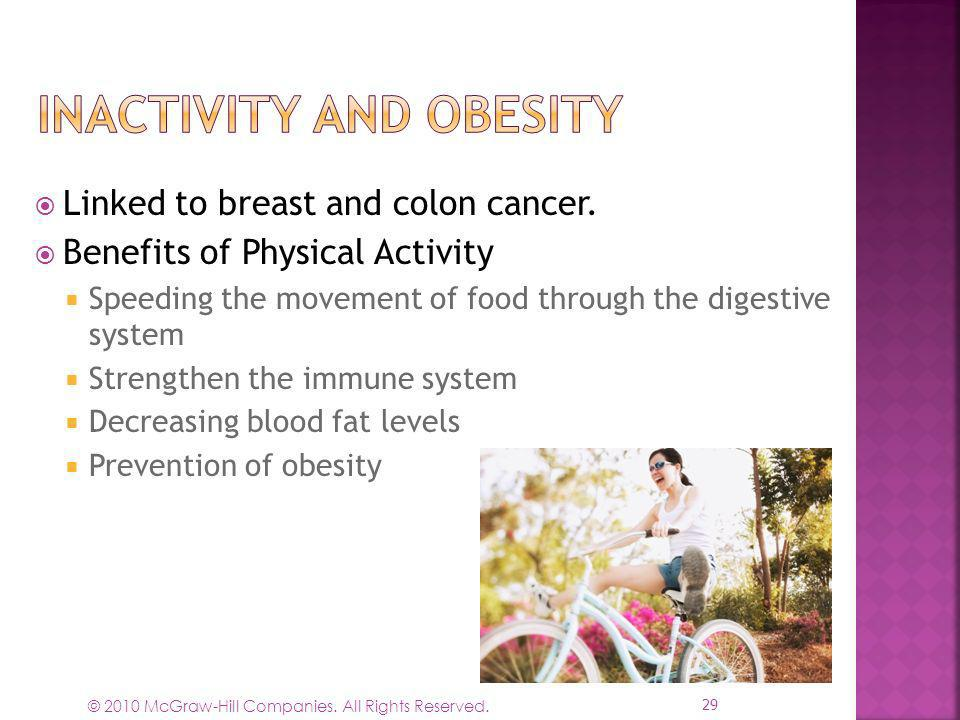 Inactivity and Obesity