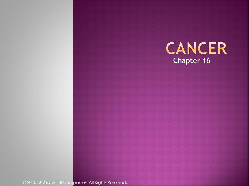 Cancer Chapter 16