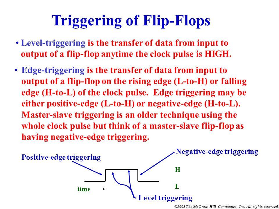 Triggering of Flip-Flops