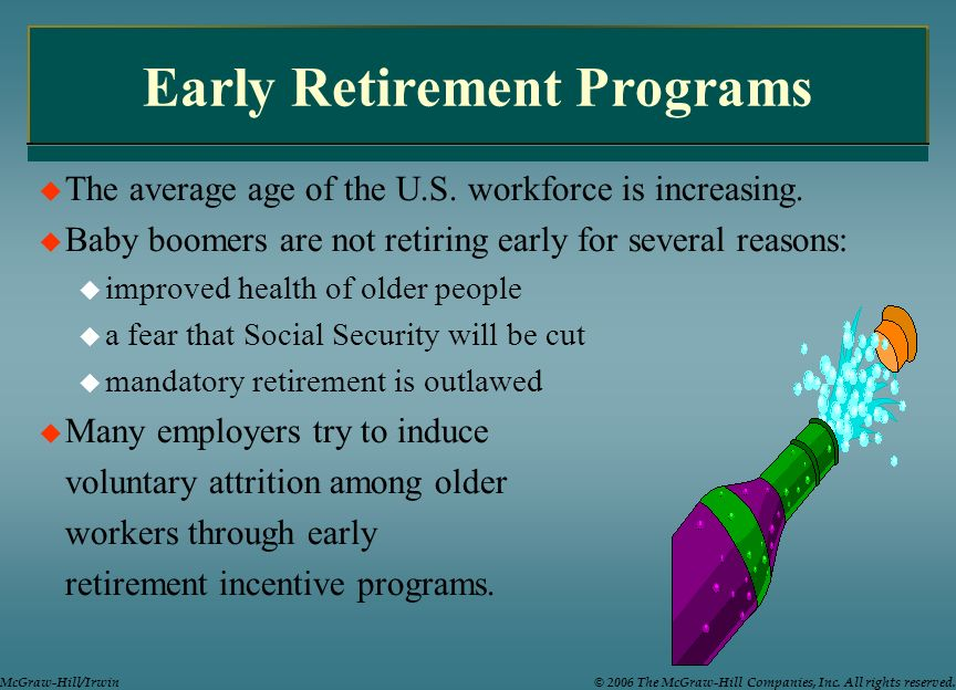 Early Retirement Programs