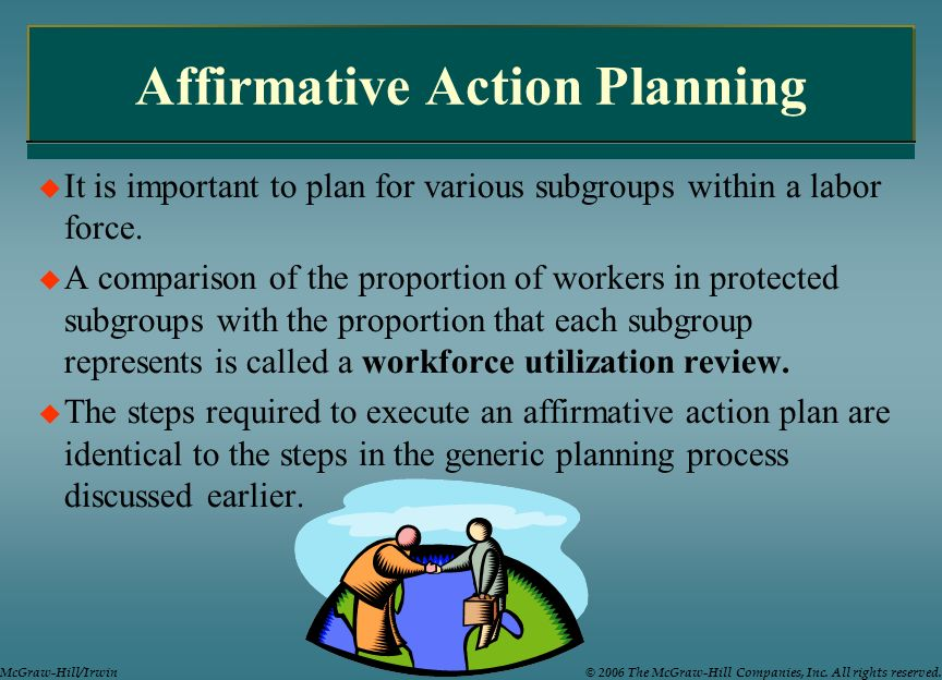 Affirmative Action Compliance Checklist  The Law Firm of