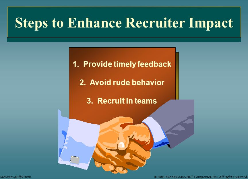 Steps to Enhance Recruiter Impact