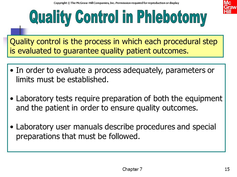 Phlebotomy Quality Control