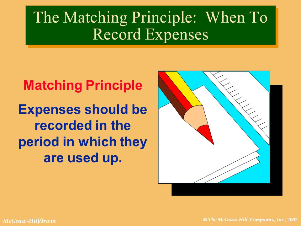 The Matching Principle: When To Record Expenses