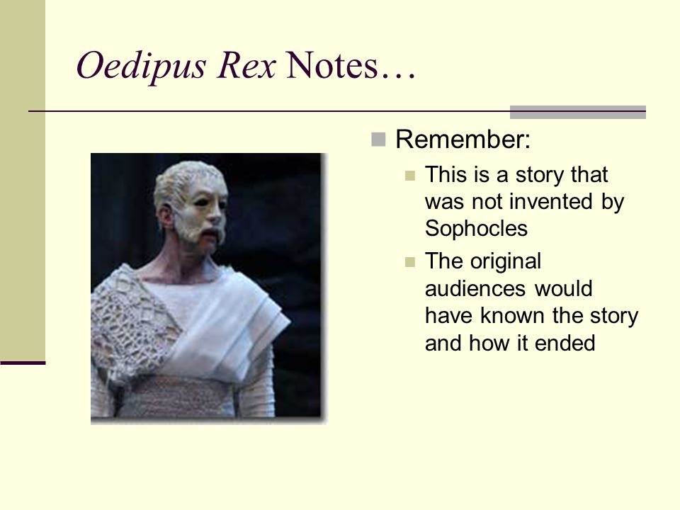 Oedipus And The Sphinx Summary