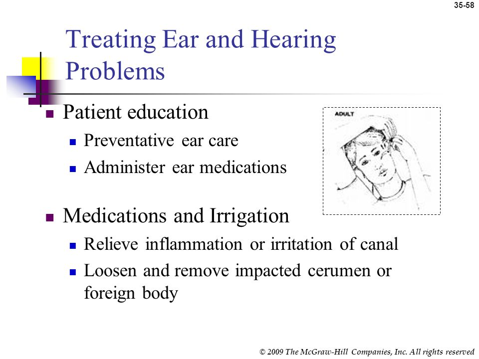 Treating Ear and Hearing Problems
