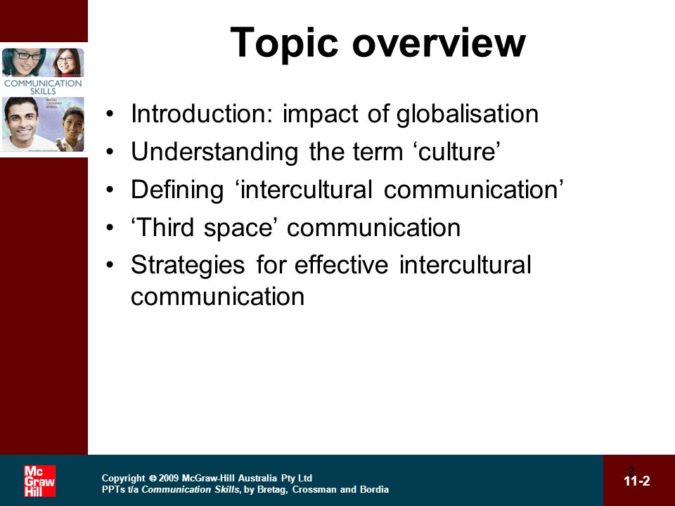 Topic overview Introduction: impact of globalisation
