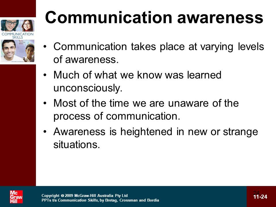 Communication awareness
