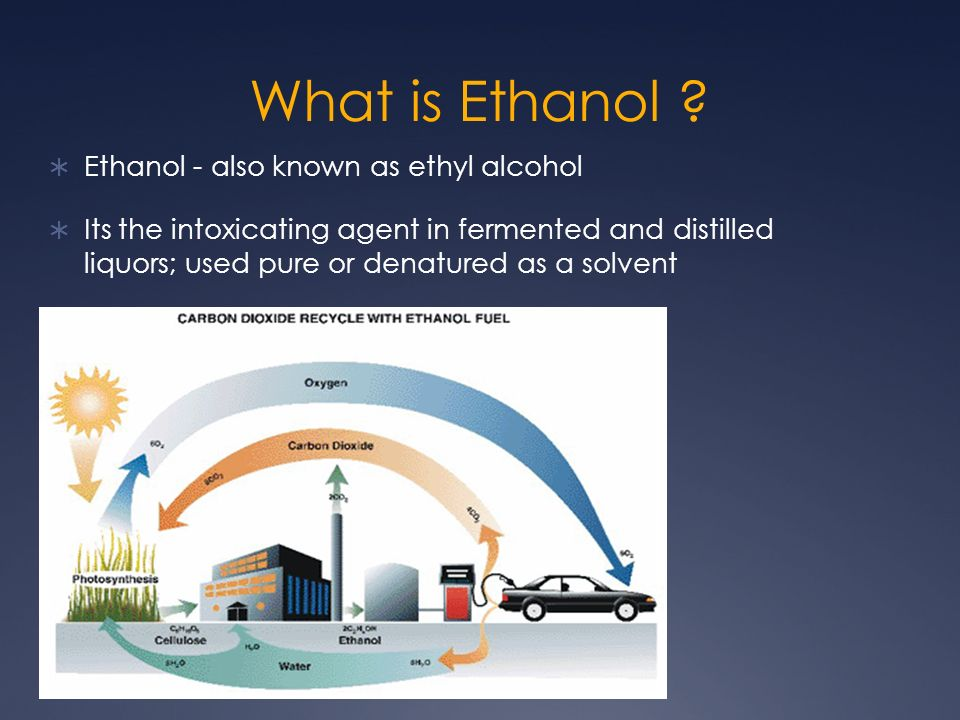 An analysis of the topic of the pure ethyl alcohol