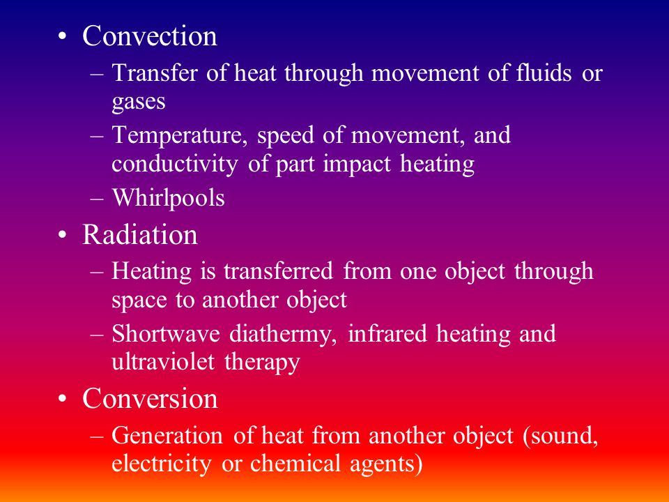 Convection Radiation Conversion