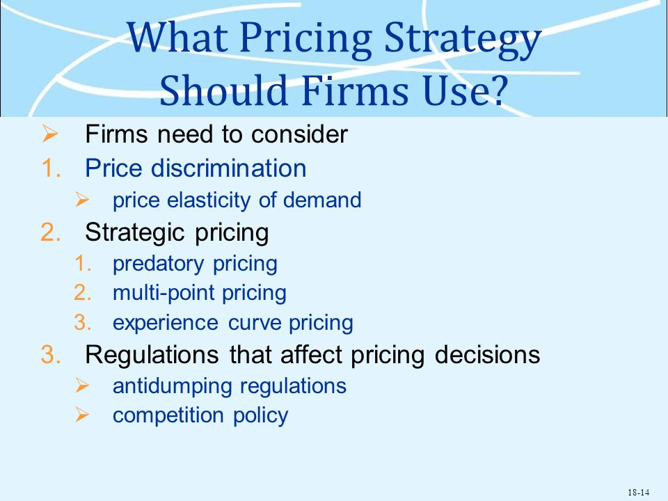 What Pricing Strategy Should Firms Use