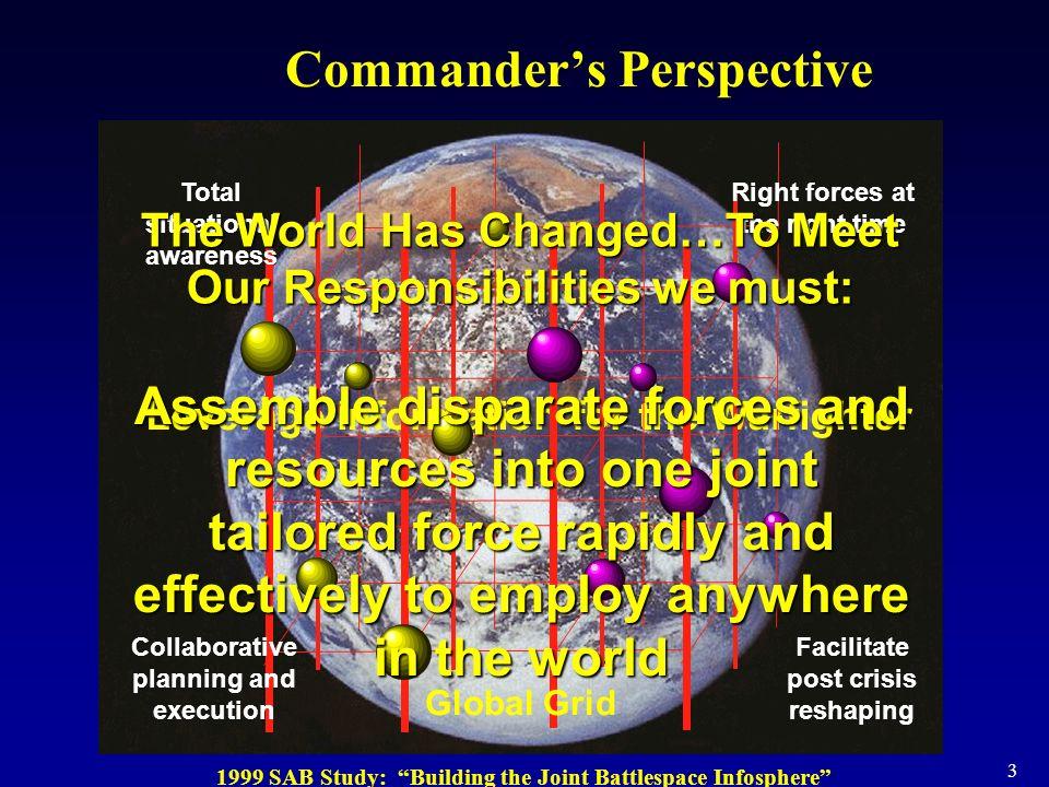 Commander's Perspective