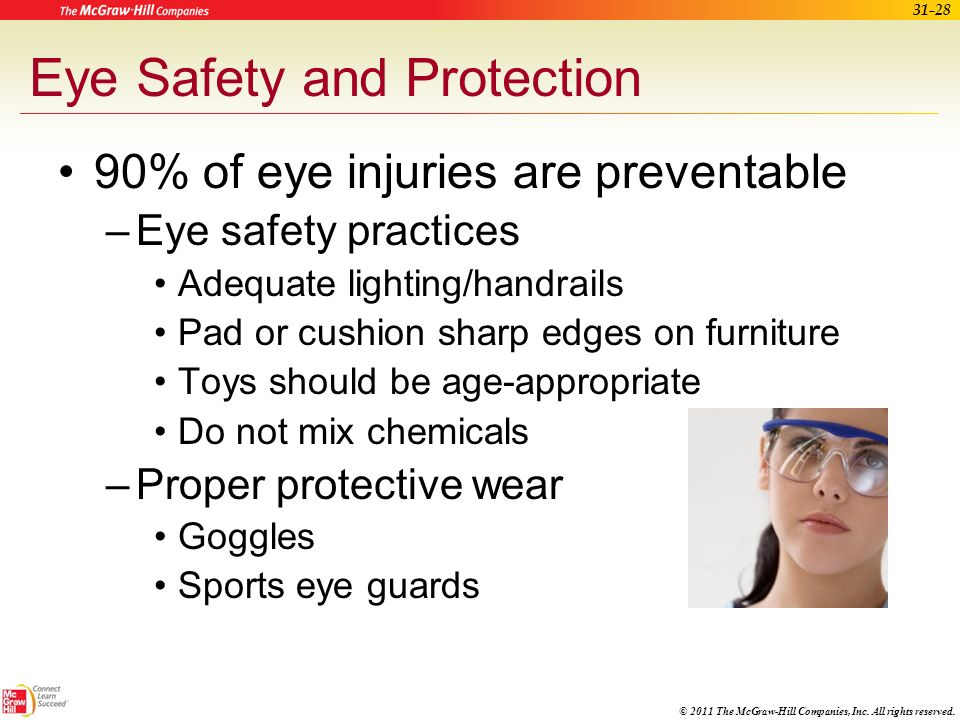 Eye Safety and Protection
