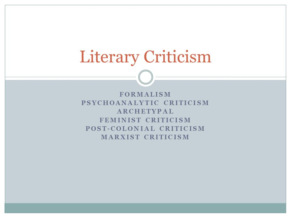 psychoanalytic criticism post colonial criticism ppt  psychoanalytic criticism post colonial criticism
