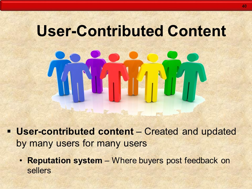 User-Contributed Content
