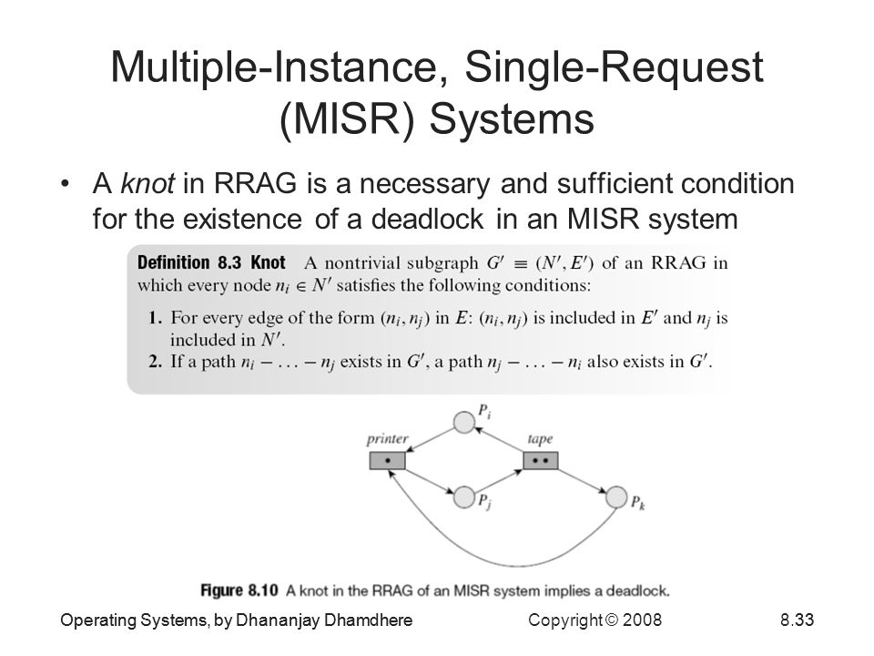 Multiple-Instance, Single-Request (MISR) Systems