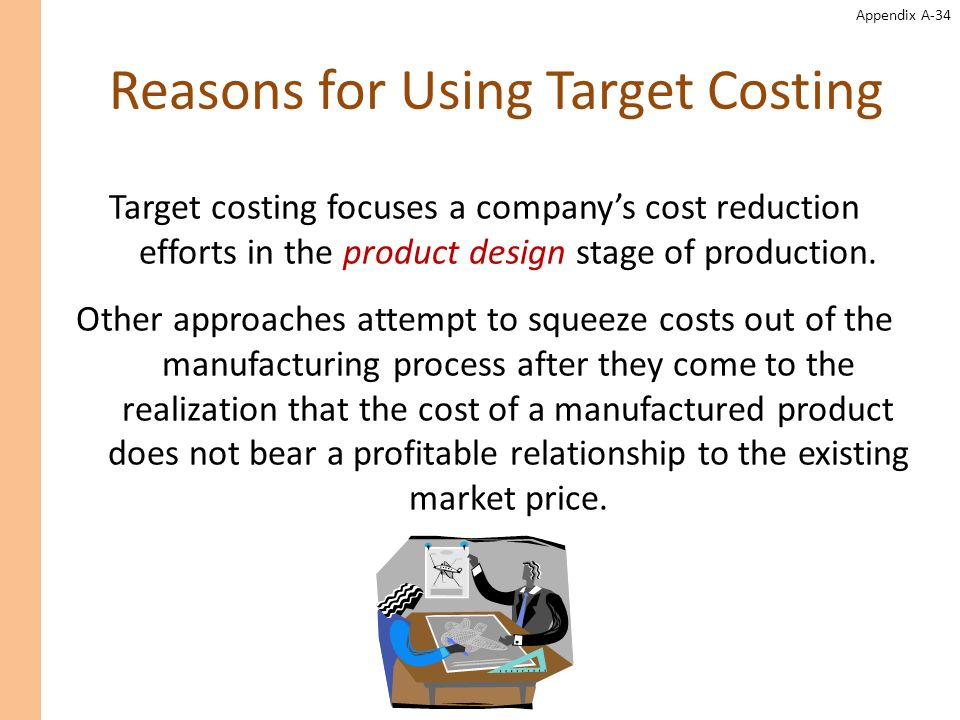 Reasons for Using Target Costing