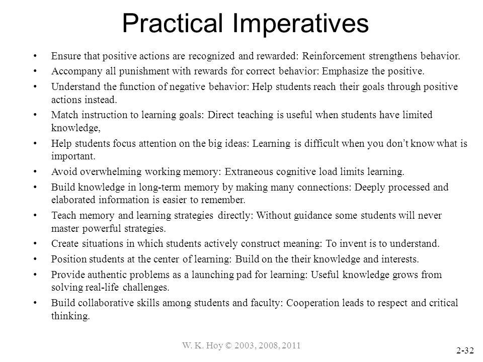 Practical Imperatives