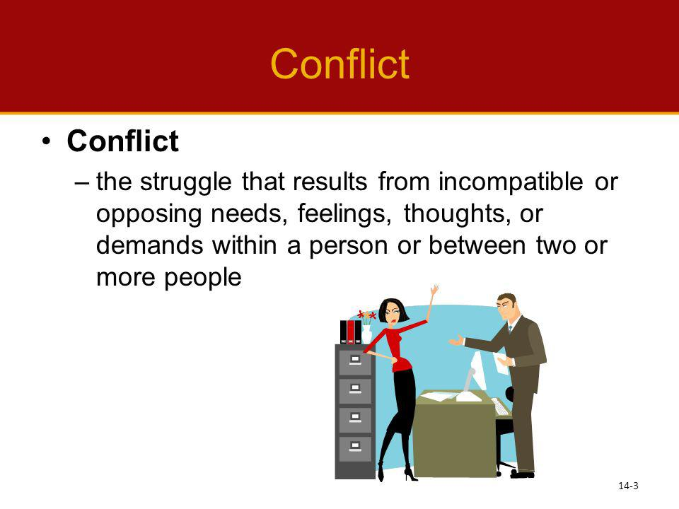 Conflict Conflict.