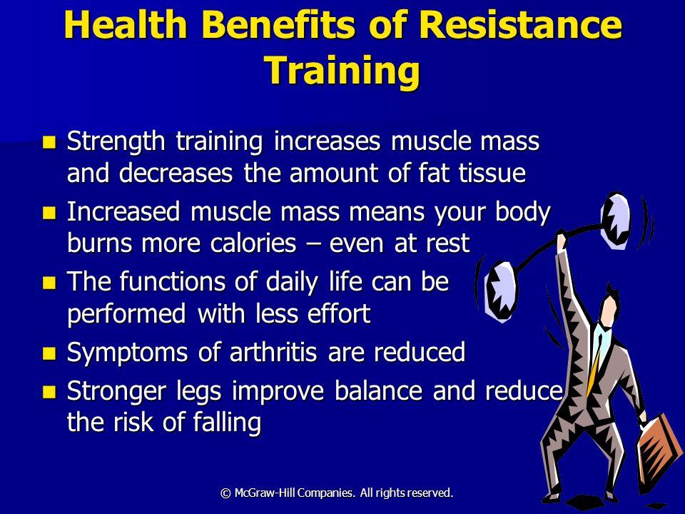 Health Benefits of Resistance Training