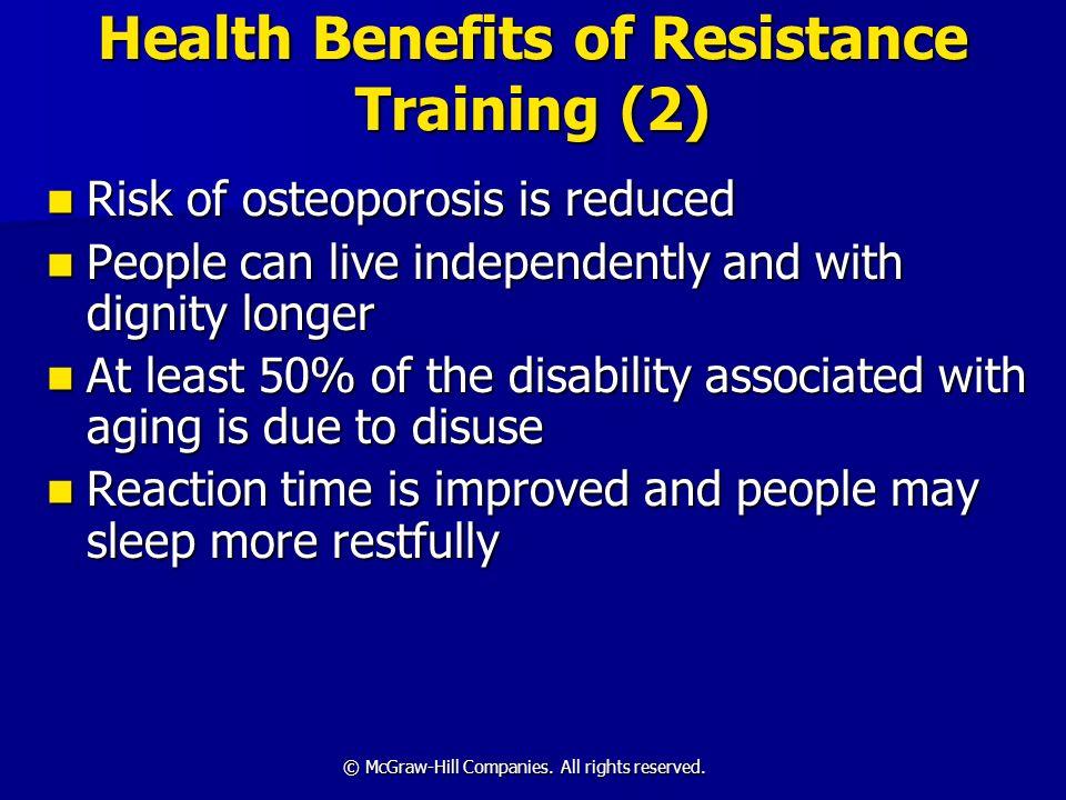 Health Benefits of Resistance Training (2)
