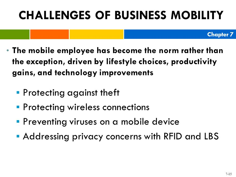CHALLENGES OF BUSINESS MOBILITY