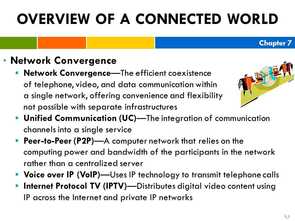 OVERVIEW OF A CONNECTED WORLD