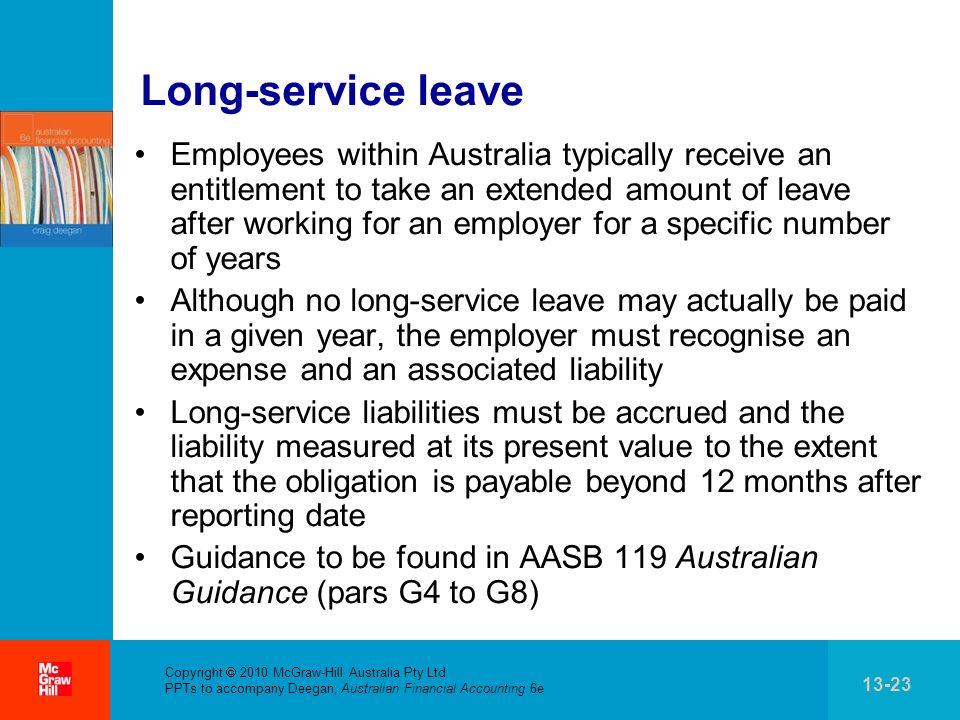 Long-service leave