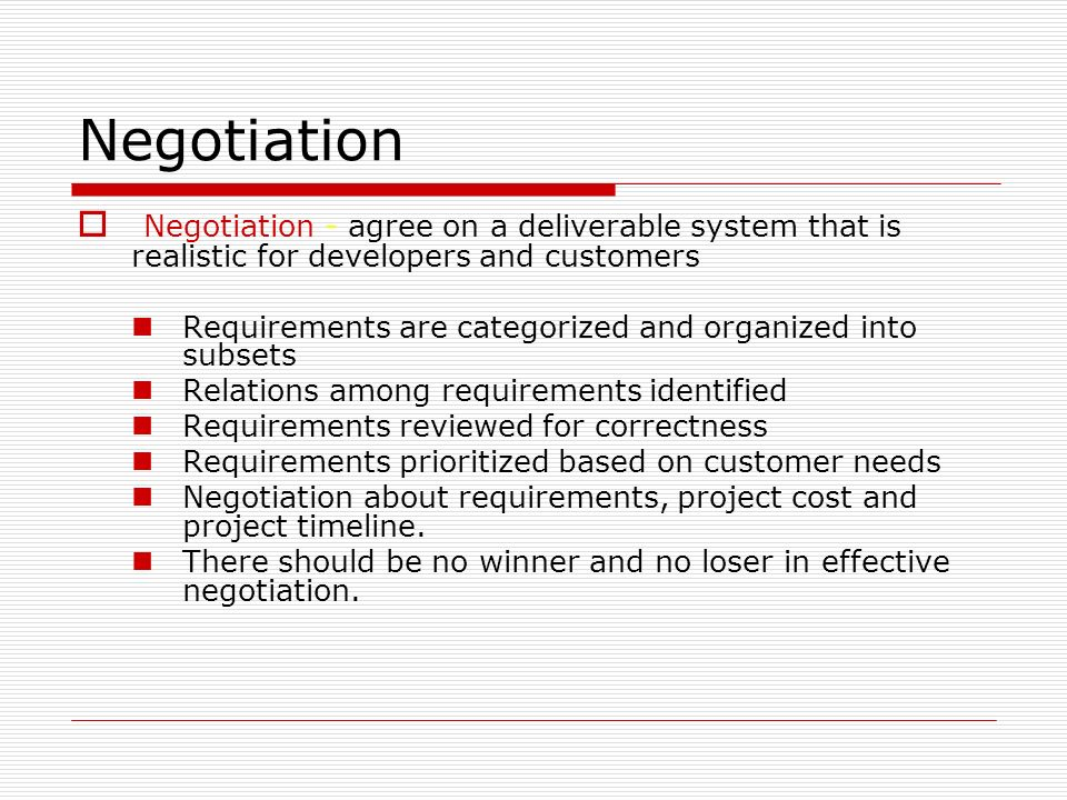 negotiation and customer Job descriptions often list negotiation skills as a desirable asset for job  candidates, but the ability to negotiate requires a collection of.