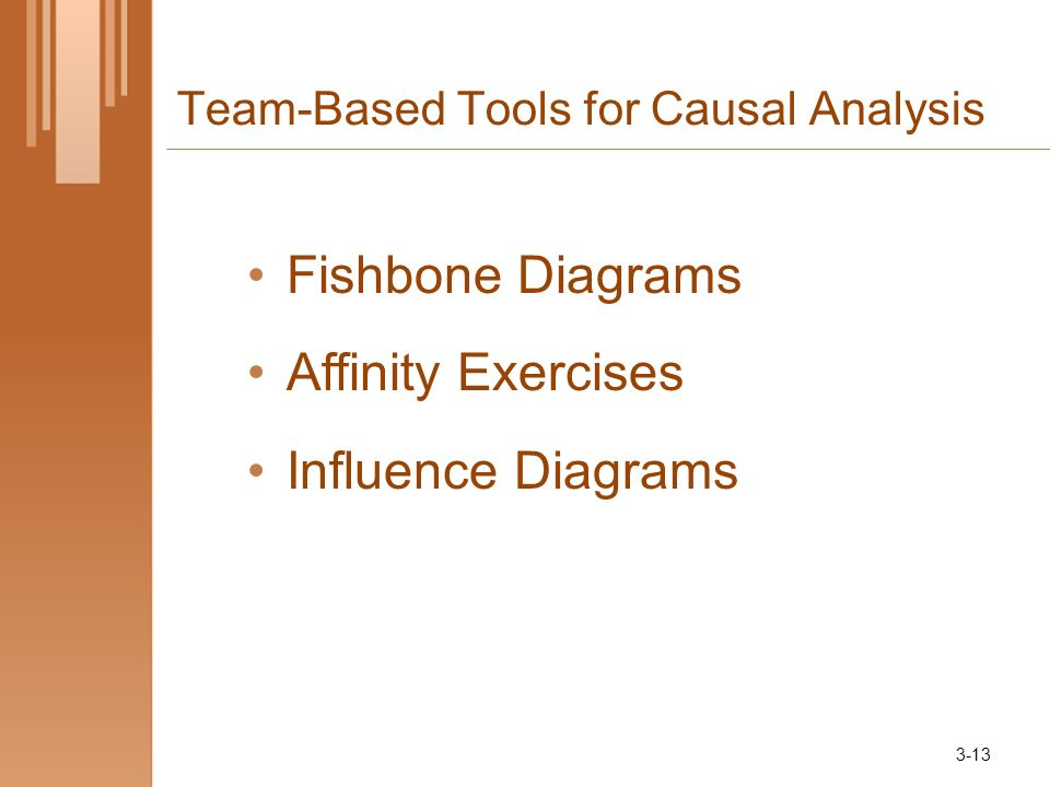 Team-Based Tools for Causal Analysis