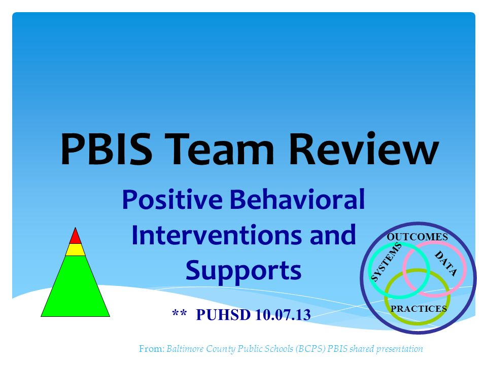 support positive behaviour outcome two Behaviours are not sufficiently responsive to either of the previous two support   appropriate interventions and (iii) measuring outcomes to assess the  a  science teacher wanted to promote positive behaviour amongst a second-year  class of.