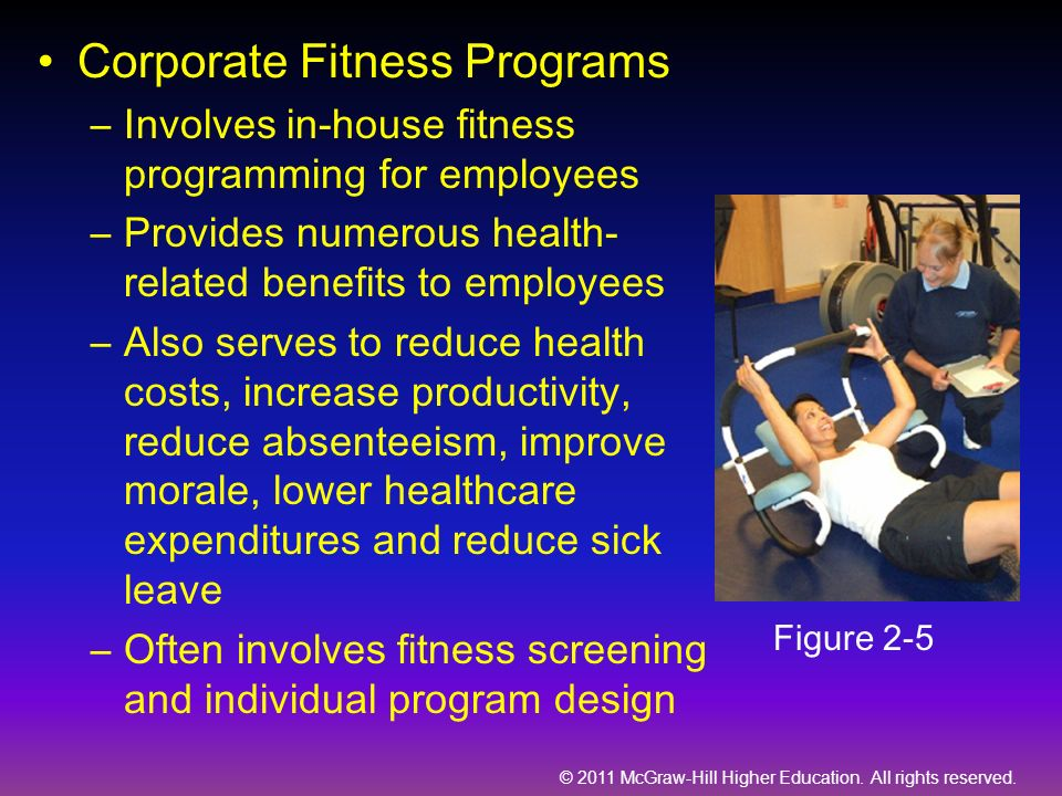 Corporate Fitness Programs