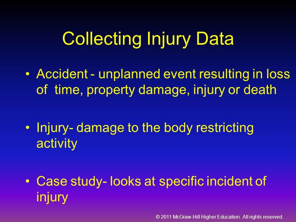 Collecting Injury Data