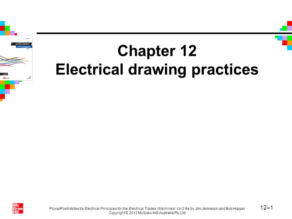 chapter 12 electrical drawing practices