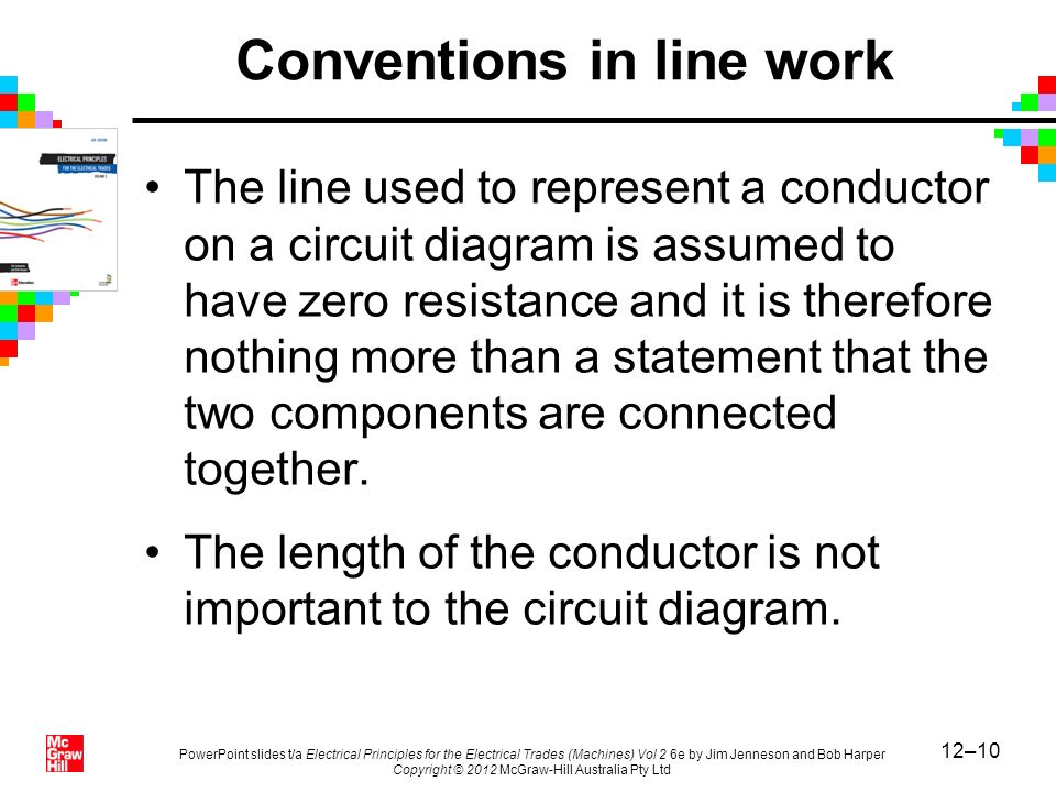 Conventions in line work