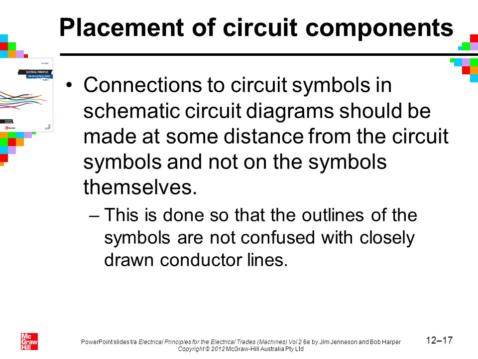 Placement of circuit components