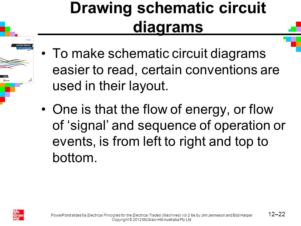 Drawing schematic circuit diagrams