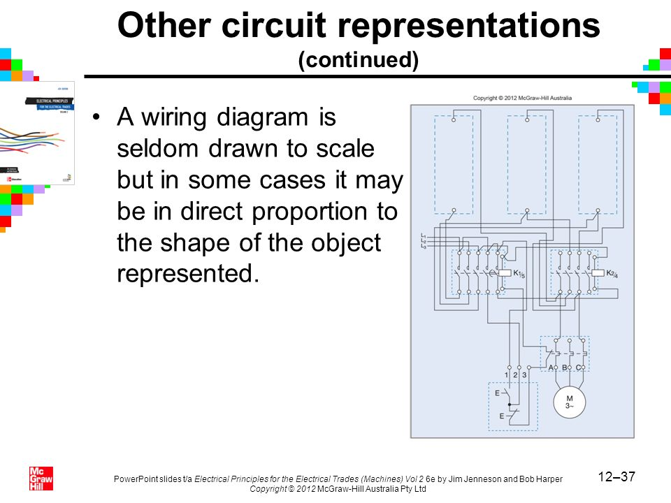 Chapter 12 electrical drawing practices ppt video online download 37 other circuit representations continued a wiring diagram asfbconference2016 Images