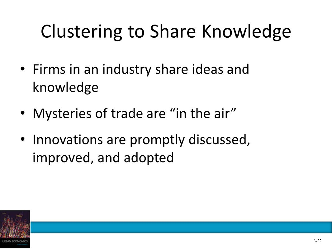 Clustering to Share Knowledge