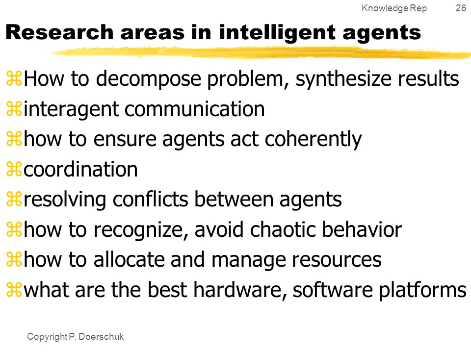 Bot and Intelligent Agent Research Resources 2018