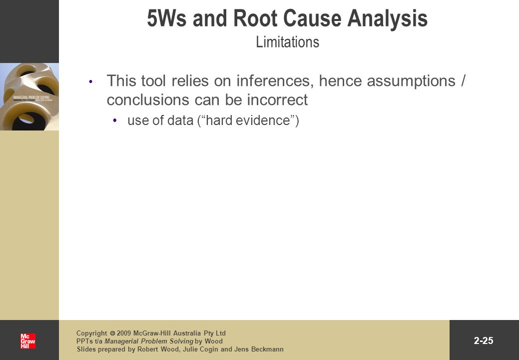 5Ws and Root Cause Analysis Limitations