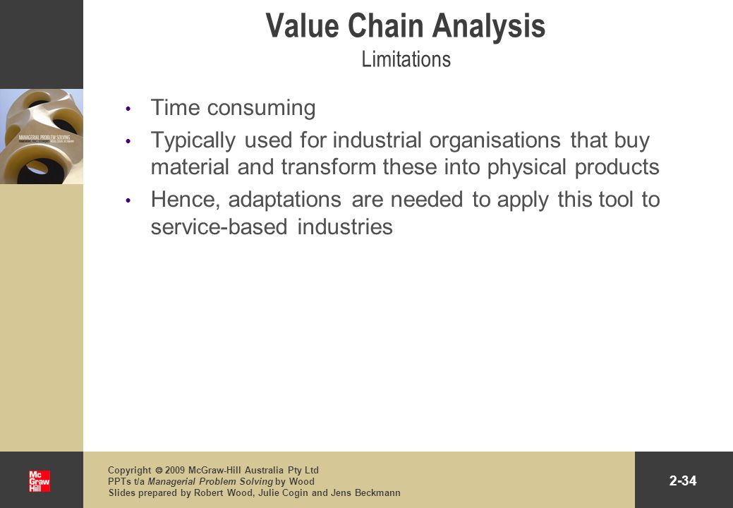 Value Chain Analysis Limitations