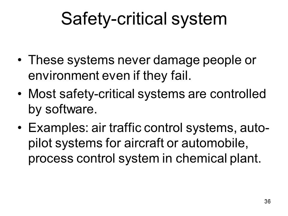 Safety-critical system